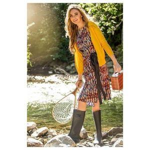 Shabby Apple Multicolor Dakota Dress w/ Waist Tie